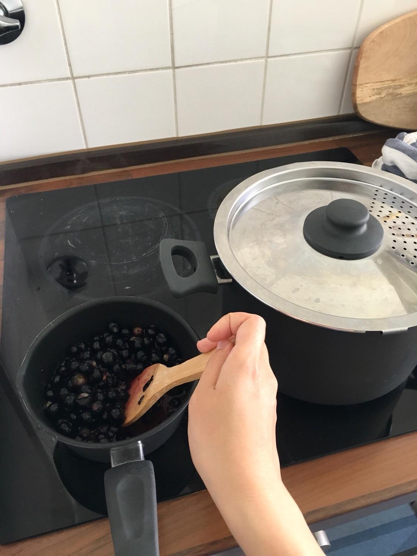 🍧解暑滋补-蓝莓山药🍧