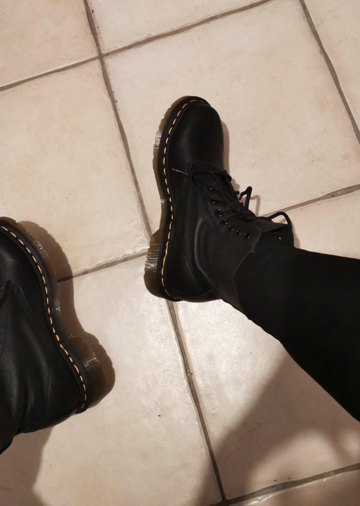 Dr. martens 1460 Pascal 软皮马丁靴