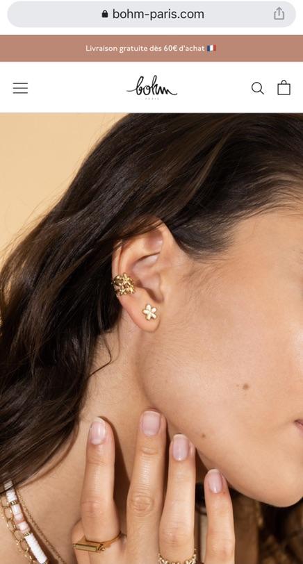 耳骨夹——无耳洞女孩的福音💛