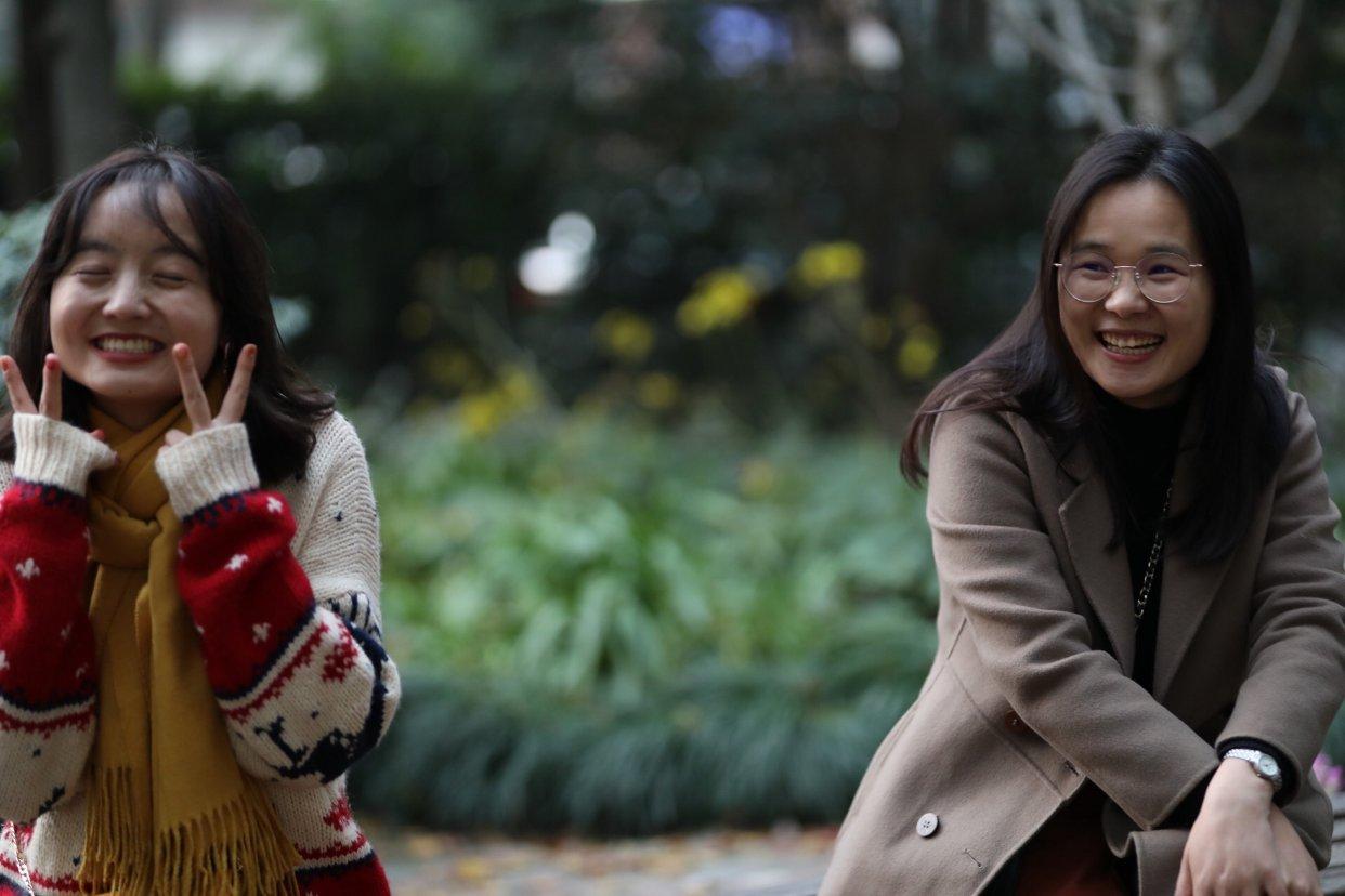 我在上海和贵阳过圣诞节