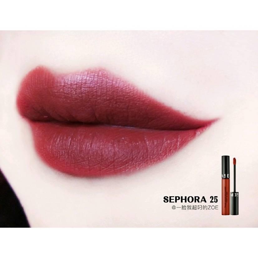 Sephora 25   最正复古棕橘色
