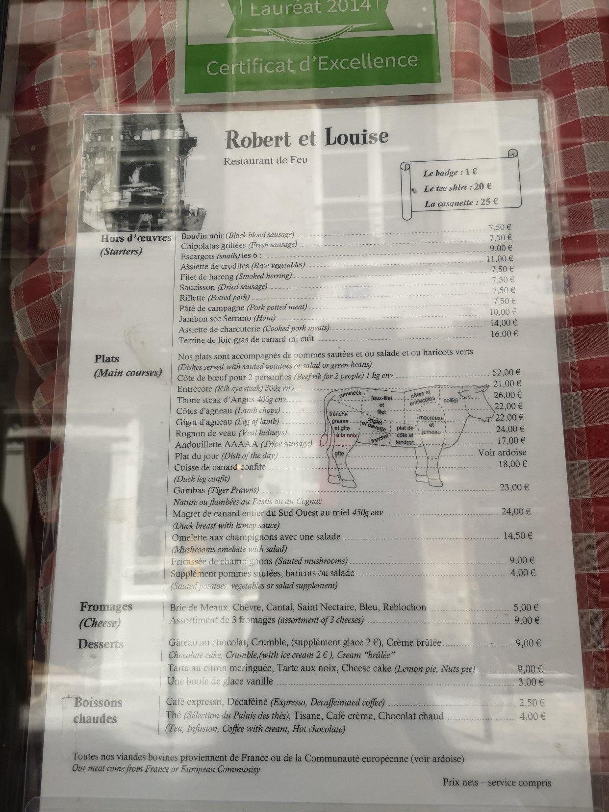 巴黎探店|巴黎最好吃的碳烤牛排餐厅