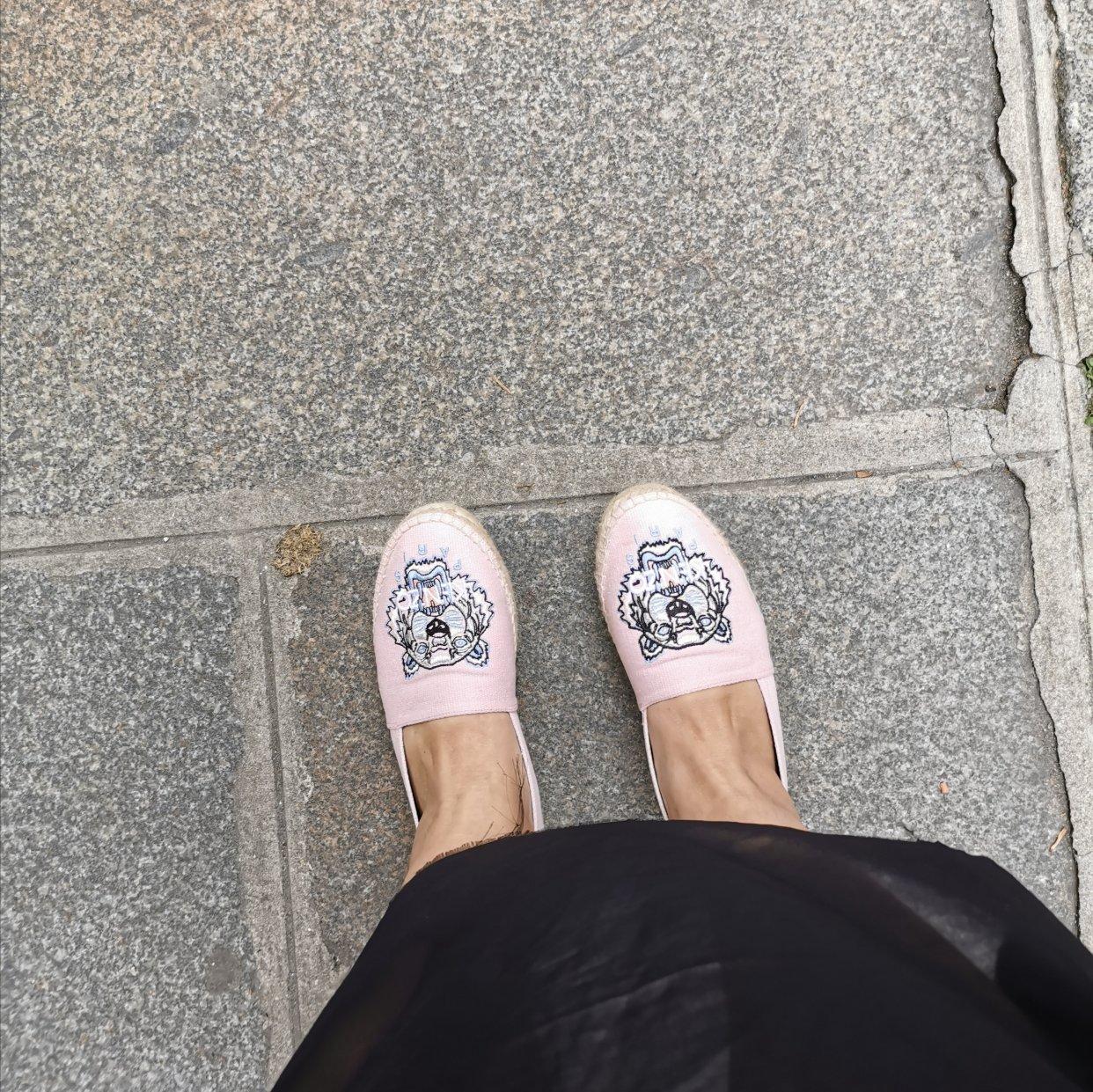 河谷一日游,佛系入手粉嫩的小鞋鞋