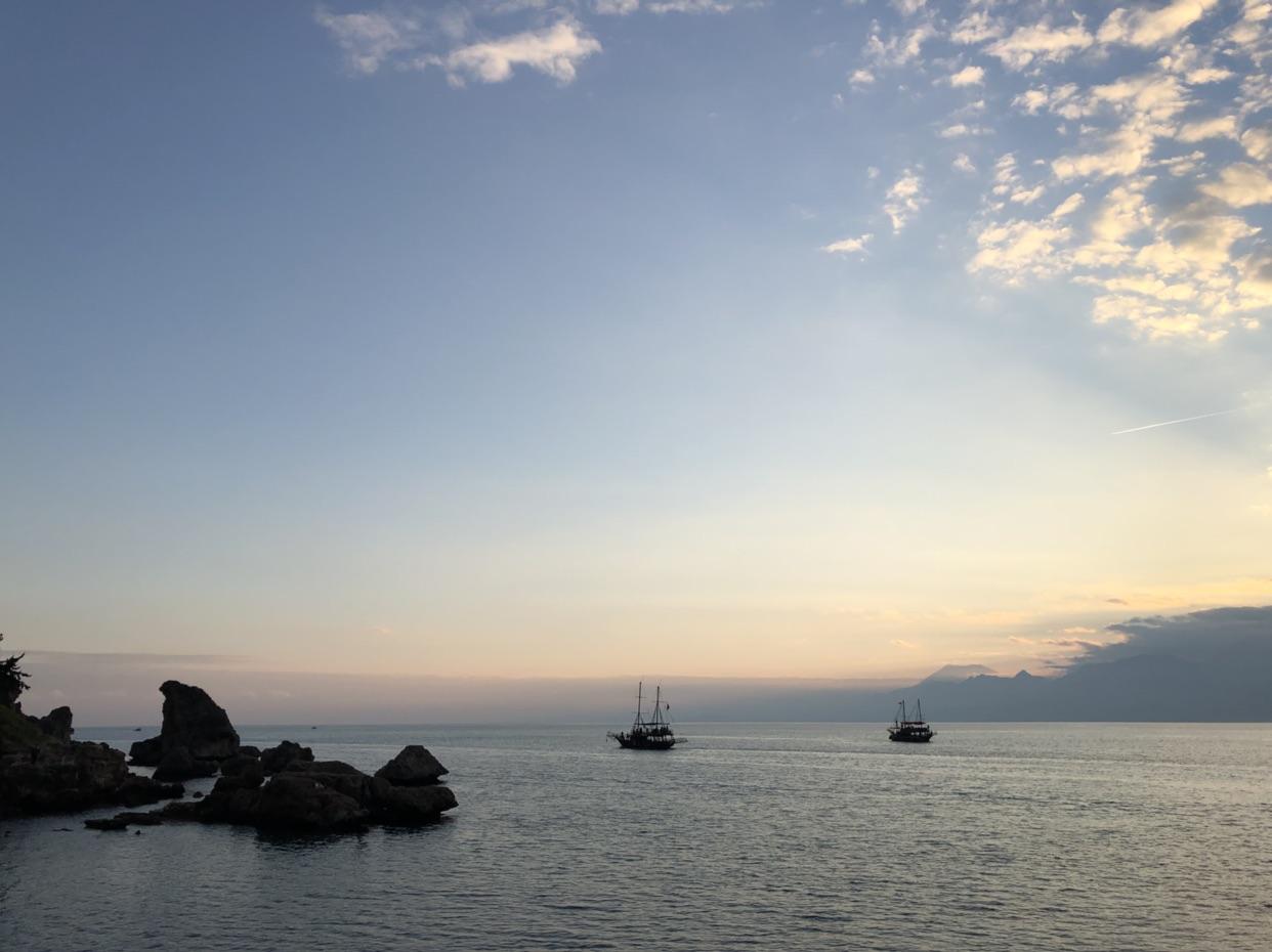 去土耳其🇹🇷,晒地中海的阳光吃最肥美的大虾🍤!
