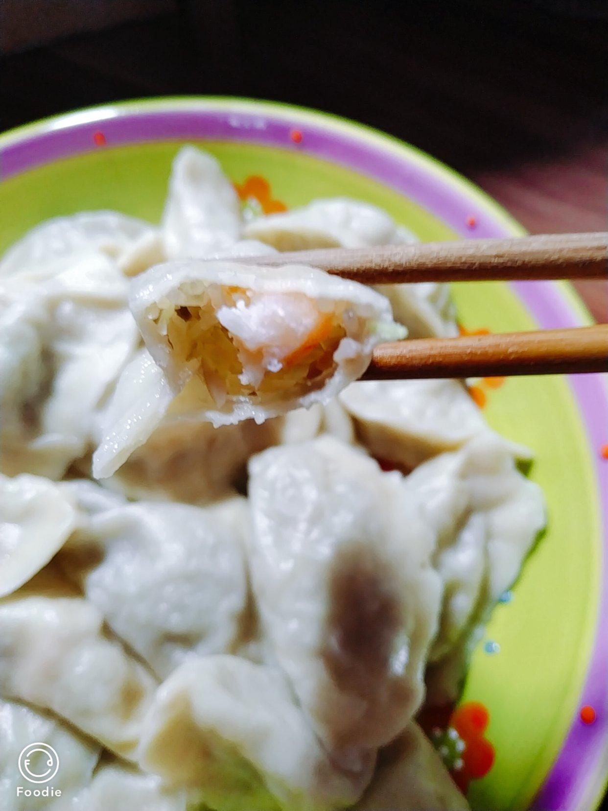 锅贴➕薄皮虾仁饺子🥟 北方人过冬的必吃项目