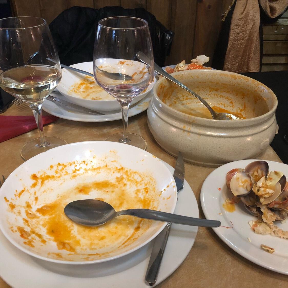葡萄牙里斯本🔥爆炸的海鲜饭餐厅拒客?!