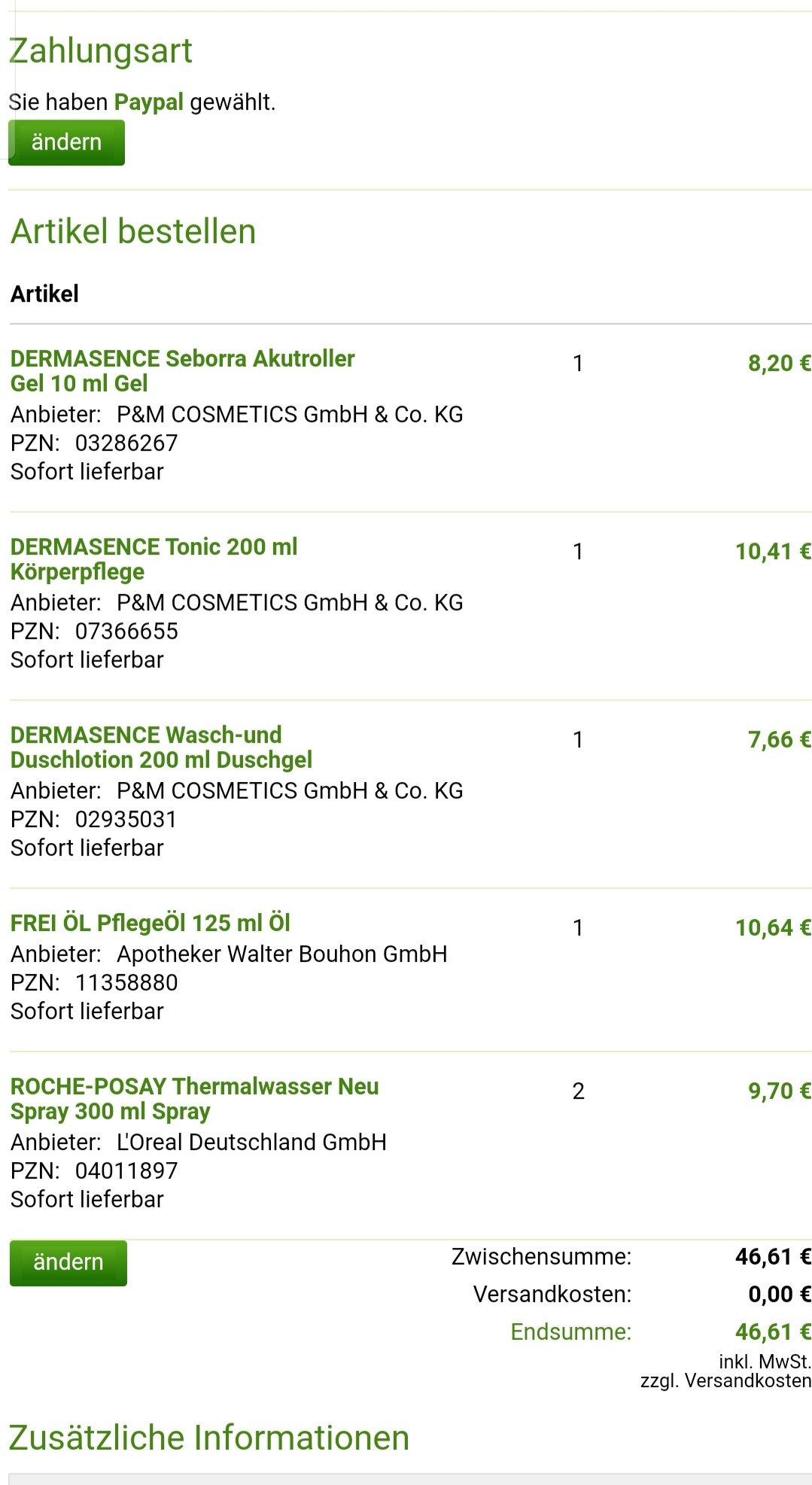 被博主们种草的德国药妆DERMASENCE