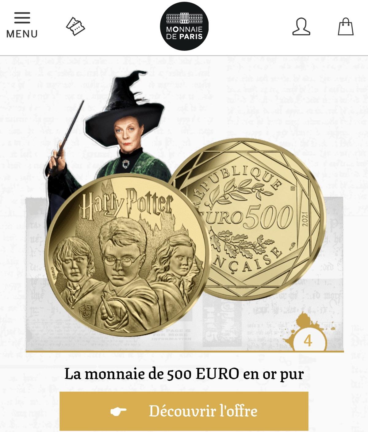 哈利波特纪念币