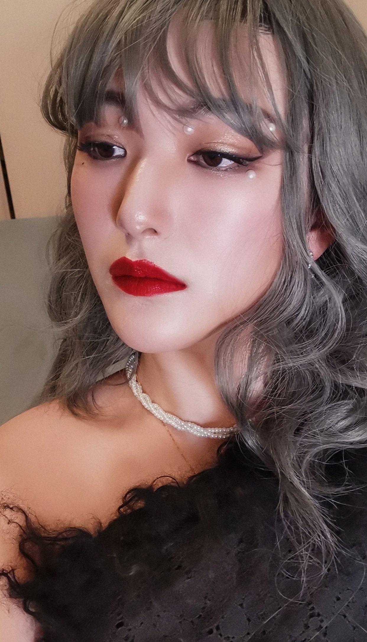 仿女神妆:终于get到了她的颜!