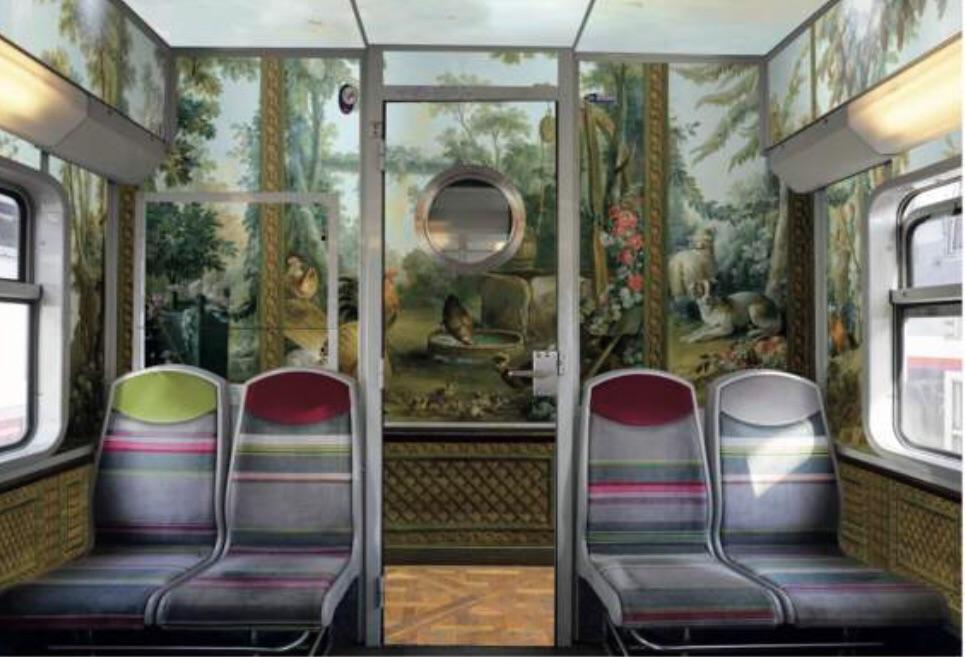 RER C 变身博物馆