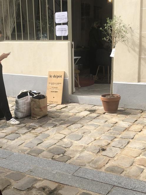 巴黎探店 二手衣服寄卖店 可买可卖