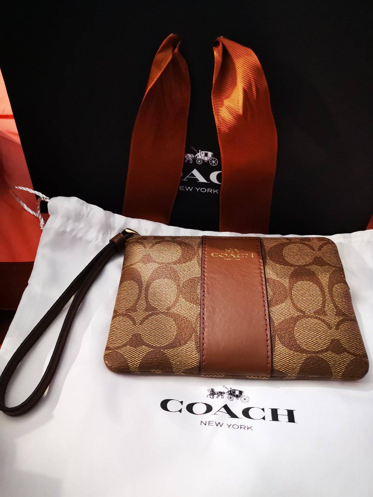 Coach收货🥳好棒,拆礼物