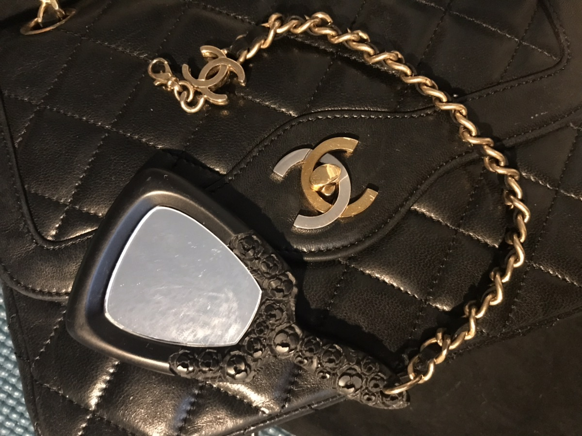 Chanel Vintage 巴黎限定 金银扣CF