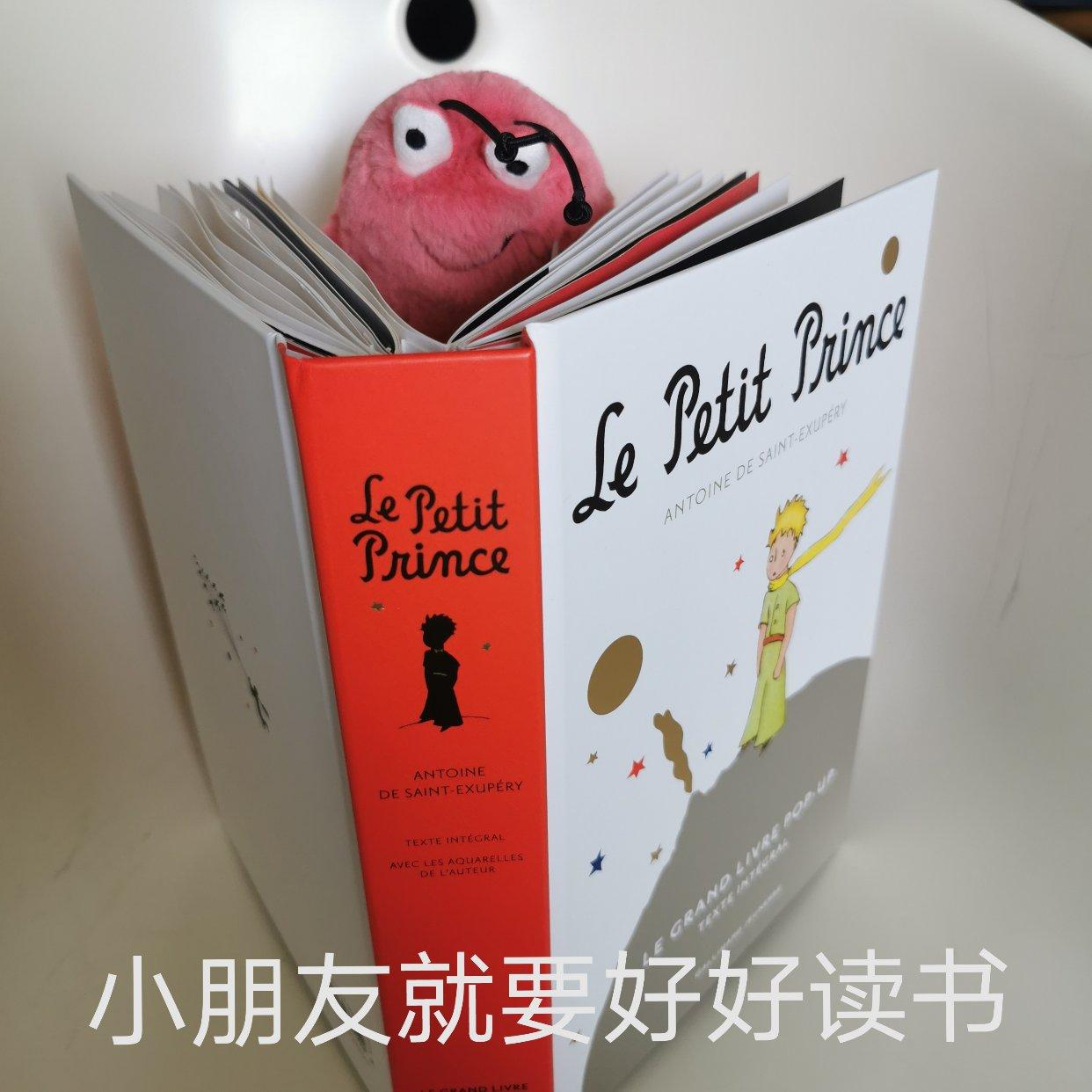 虾安利 | 小王子立体书