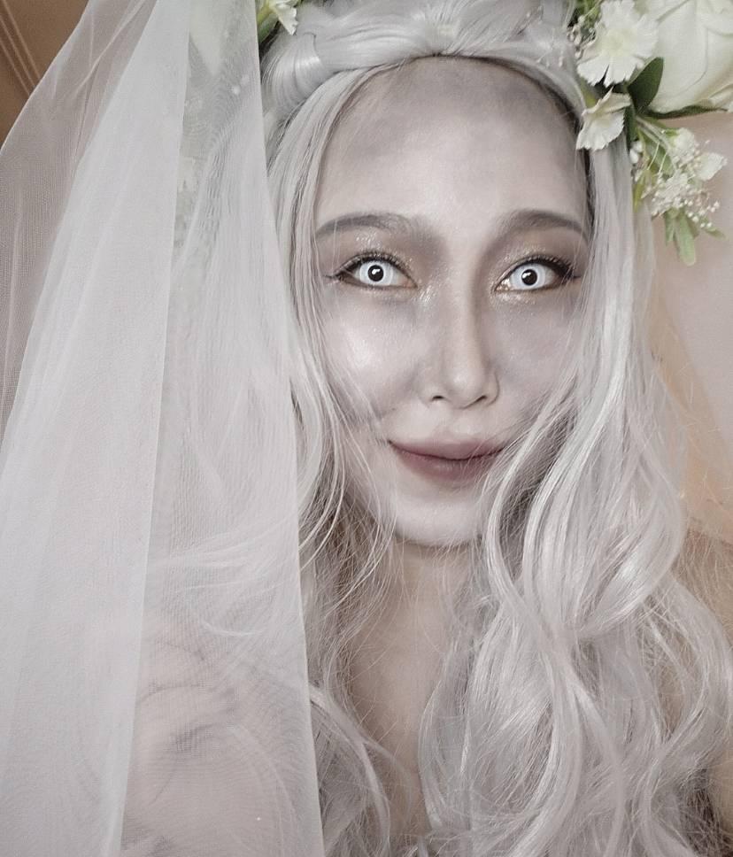 今年份的鬼👻 鬼新娘变身
