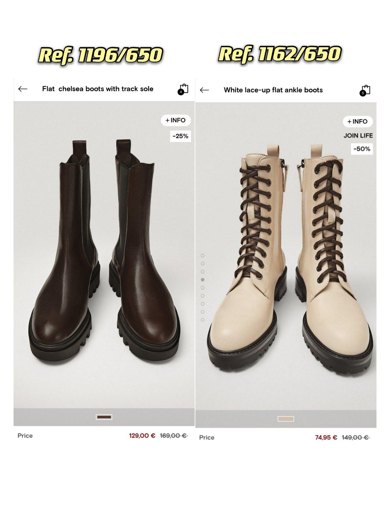 Massimo Dutti家的冬靴太好穿了!折扣中哦~