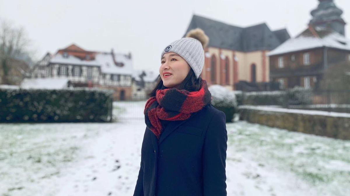 在大雪纷飞中感受比丁根的美
