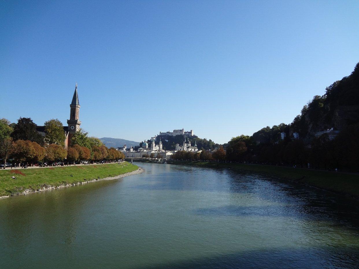 🏞萨尔茨堡,一个可以用拜仁周票直达的奥地利城市
