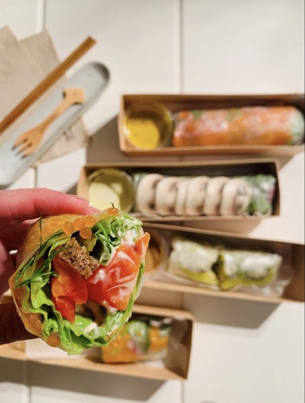 巴黎美食 17区新概念生春