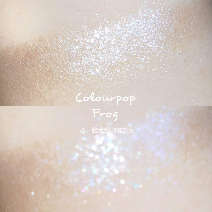 几颗新入的Colourpop单色
