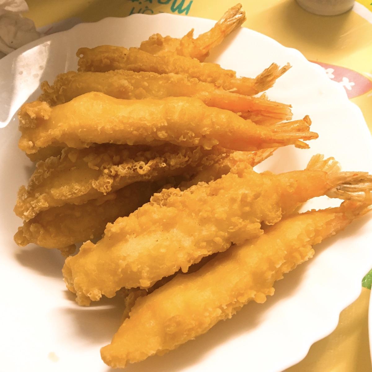 圣诞🎄大餐 之 鹅肝 + 邻居特意做的糖醋鲈鱼