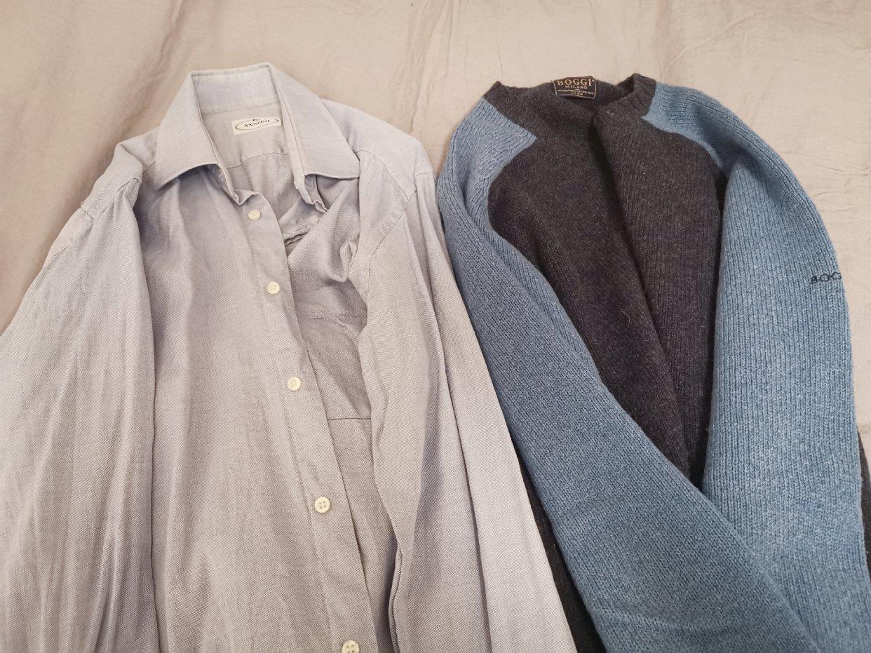 老公旧衬衫👔的新穿法!
