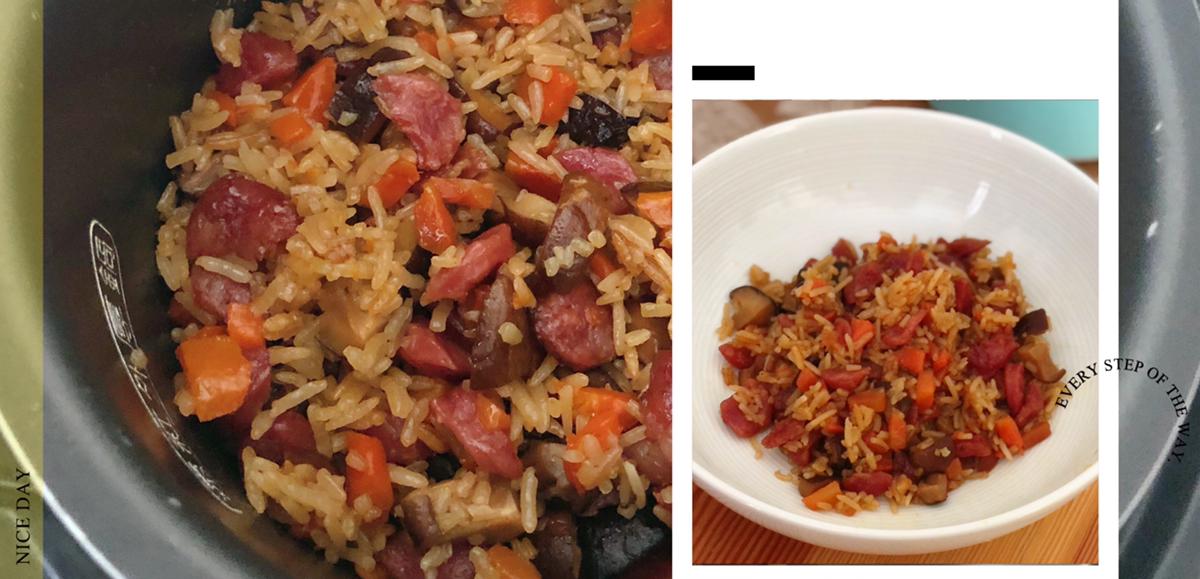 专治不爱吃米饭系列之香菇腊肠饭