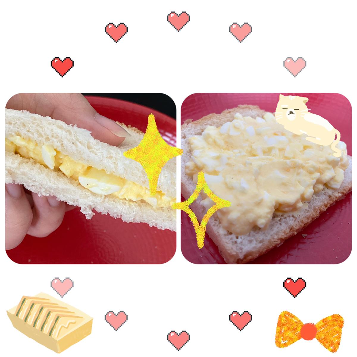 🌸春天野餐必备!鸡蛋酱三明治🥪🥚