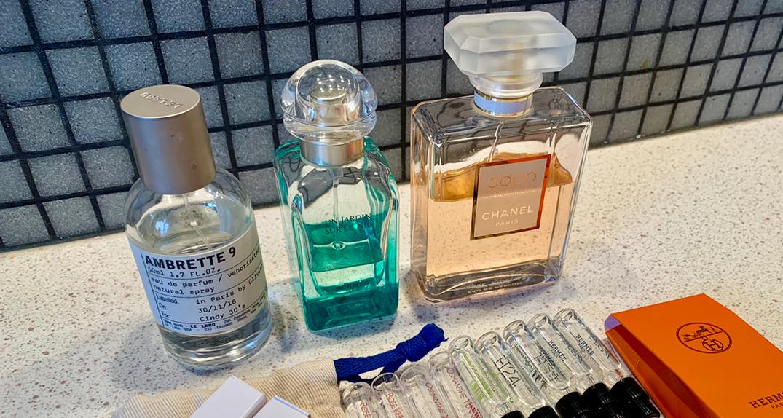我喜欢的香水