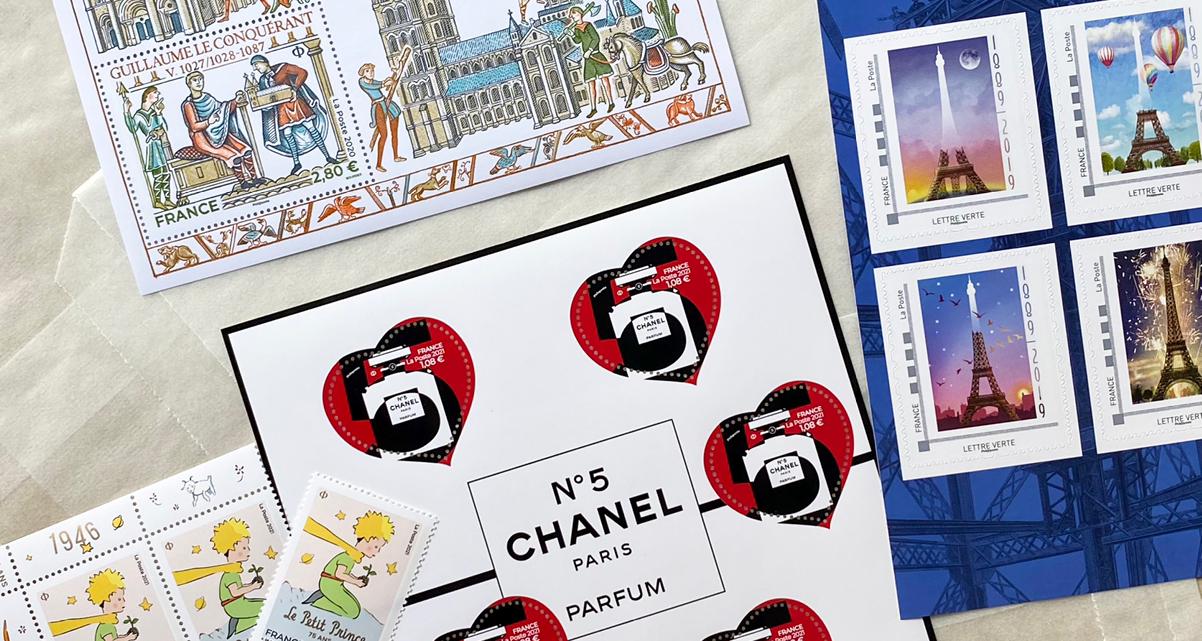 新鲜热辣的邮票分享
