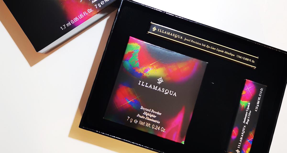 黑五开箱第七弹:illamasqua高光礼盒
