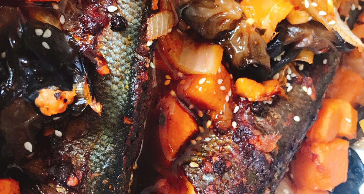 火锅底料版烤鱼