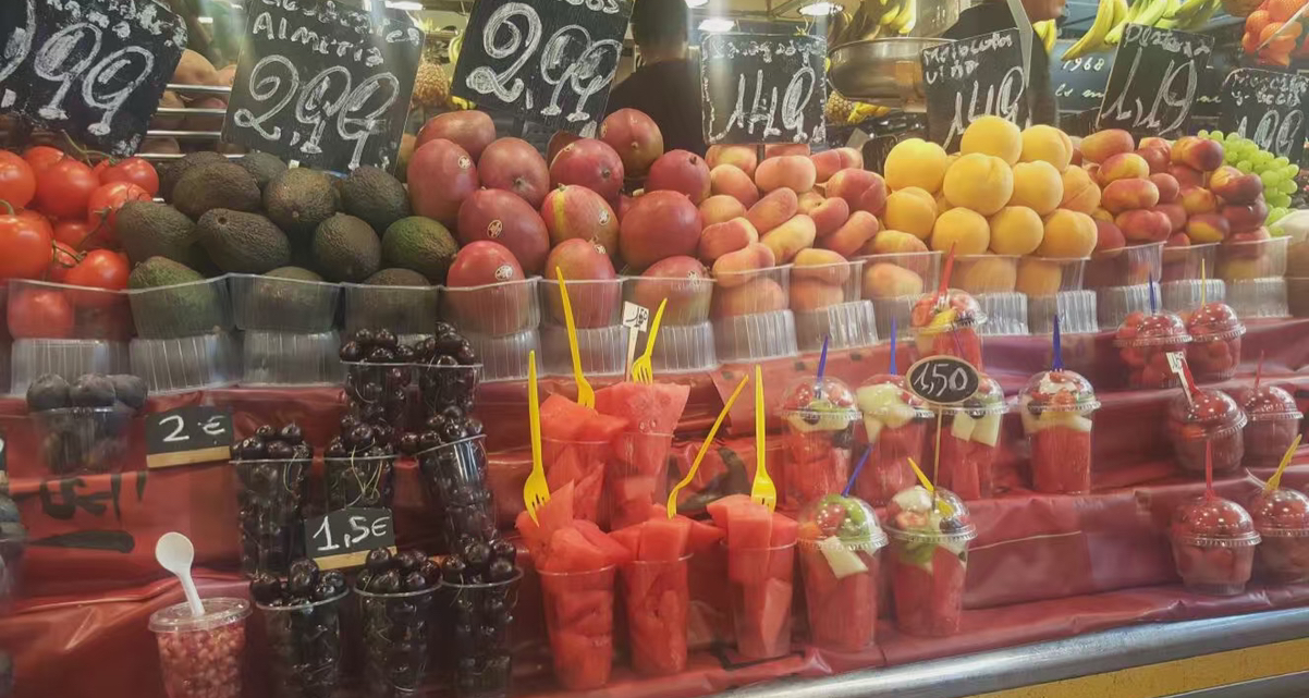 西班牙的记忆是水果火腿和暴走