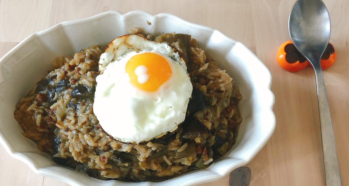 消灭米饭大作战 韩式茄子饭