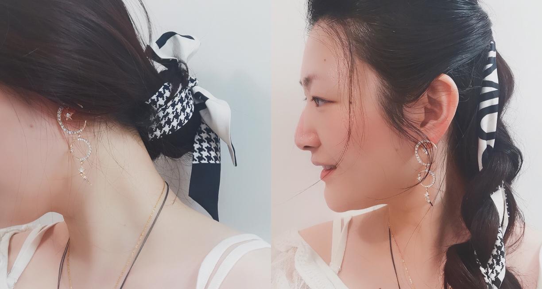 今日课题 —— 一分钟学会丝巾仙女发型,为炎热的夏天做好准备