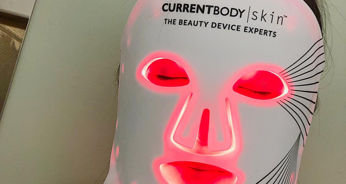 嫩肤一绝CB红光面膜仪面部+颈部,大型种草现场