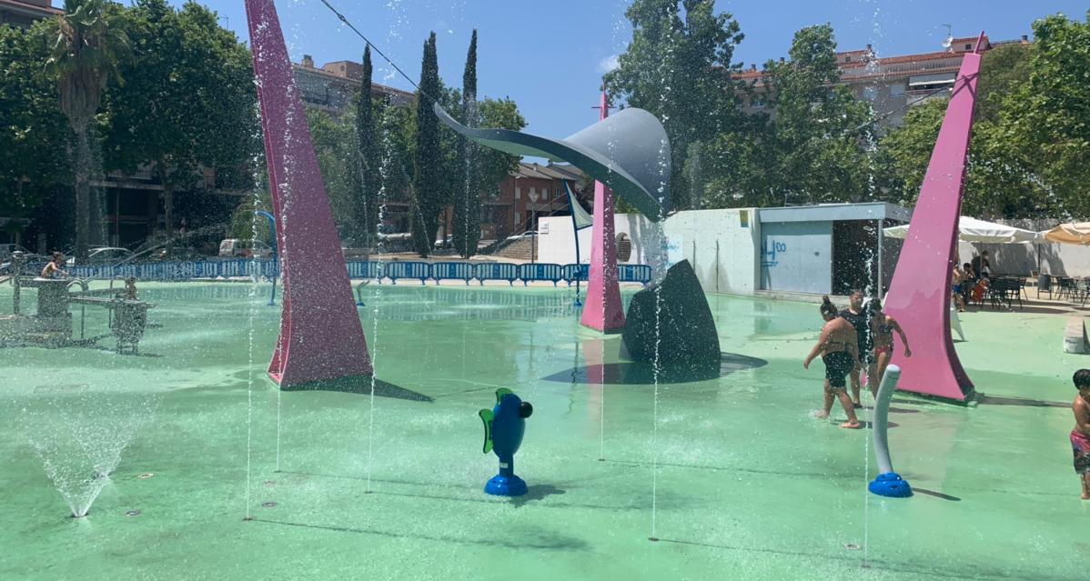 巴塞罗那免费水上乐园